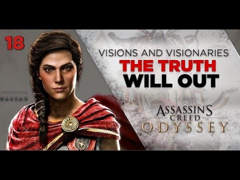 Assassins Creed Odyssey Gameplay |  VISIONS and VISIONARIES - Truth Will Out [18] 1