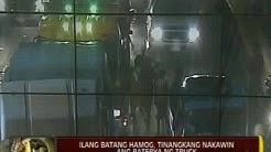 24 Oras: Ilang batang hamog, tinangkang nakawin ang baterya ng truck