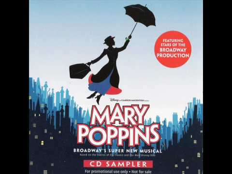 Mary Poppins Original Broadway Cast 8-Track Sampler-8. Anything Can Happen - Ashley Brown & Ensemble