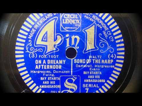 "Ray Starita & His Ambassadors w. Elsie Carlisle - ""On a Dreamy Afternoon"" (1932)"