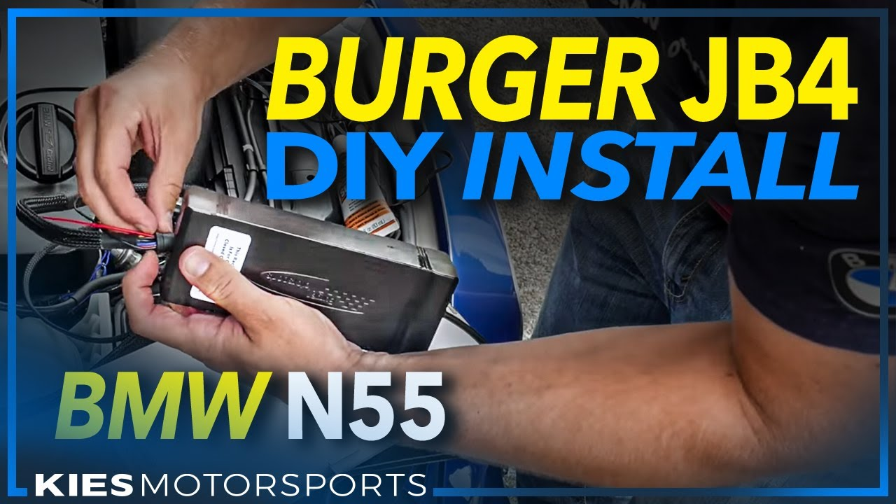 hight resolution of burger motorsports jb4 n55 pwg installation on a 2013 bmw f30 335i good reference for ewg too