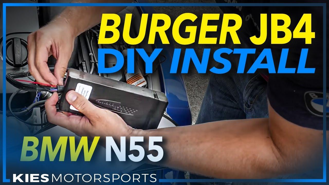 medium resolution of burger motorsports jb4 n55 pwg installation on a 2013 bmw f30 335i good reference for ewg too