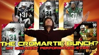 the cromartie bunch 7 cromarties in one lineup new brady shazier madden ultimate team 16