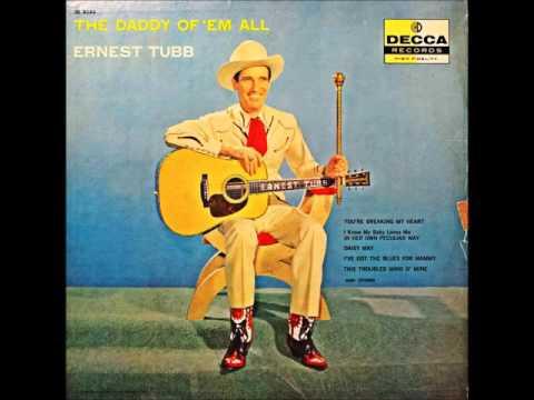 Ernest Tubb - I'll Go On Alone