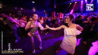 Anton & Olesya - social dancing @ Berlin Salsa Congress 2017
