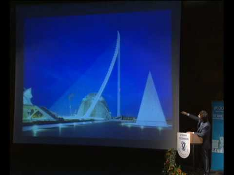 Dr.Santiago Calatrava Lecture at Technion Selected Projects