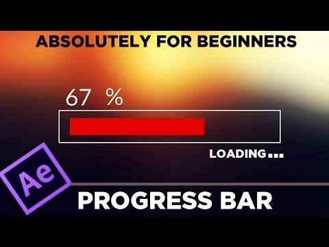 Progress Bar Animation Tutorial - Adobe After Effect