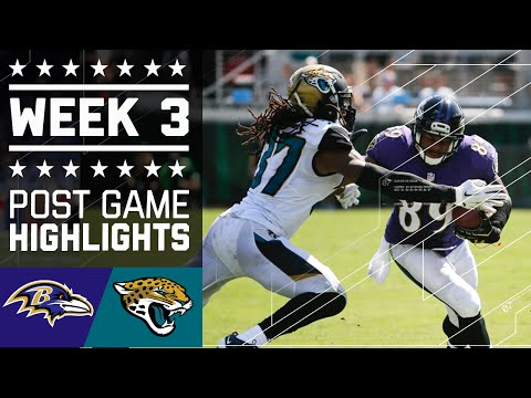 Ravens vs. Jaguars | NFL Week 3 Game Highlights