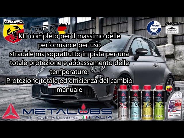 Gamma Metalubs KIT specifici per Abarth T-jet e Multiair
