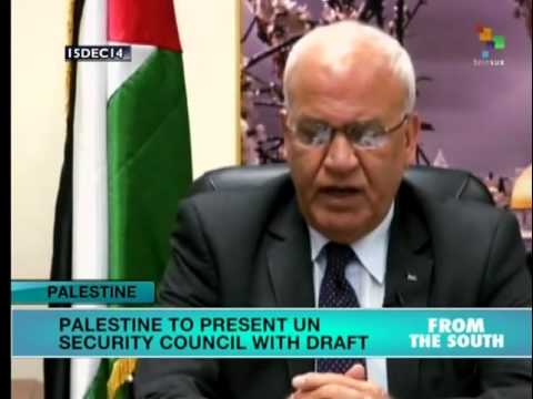 Palestine to present UN Security Council with draft