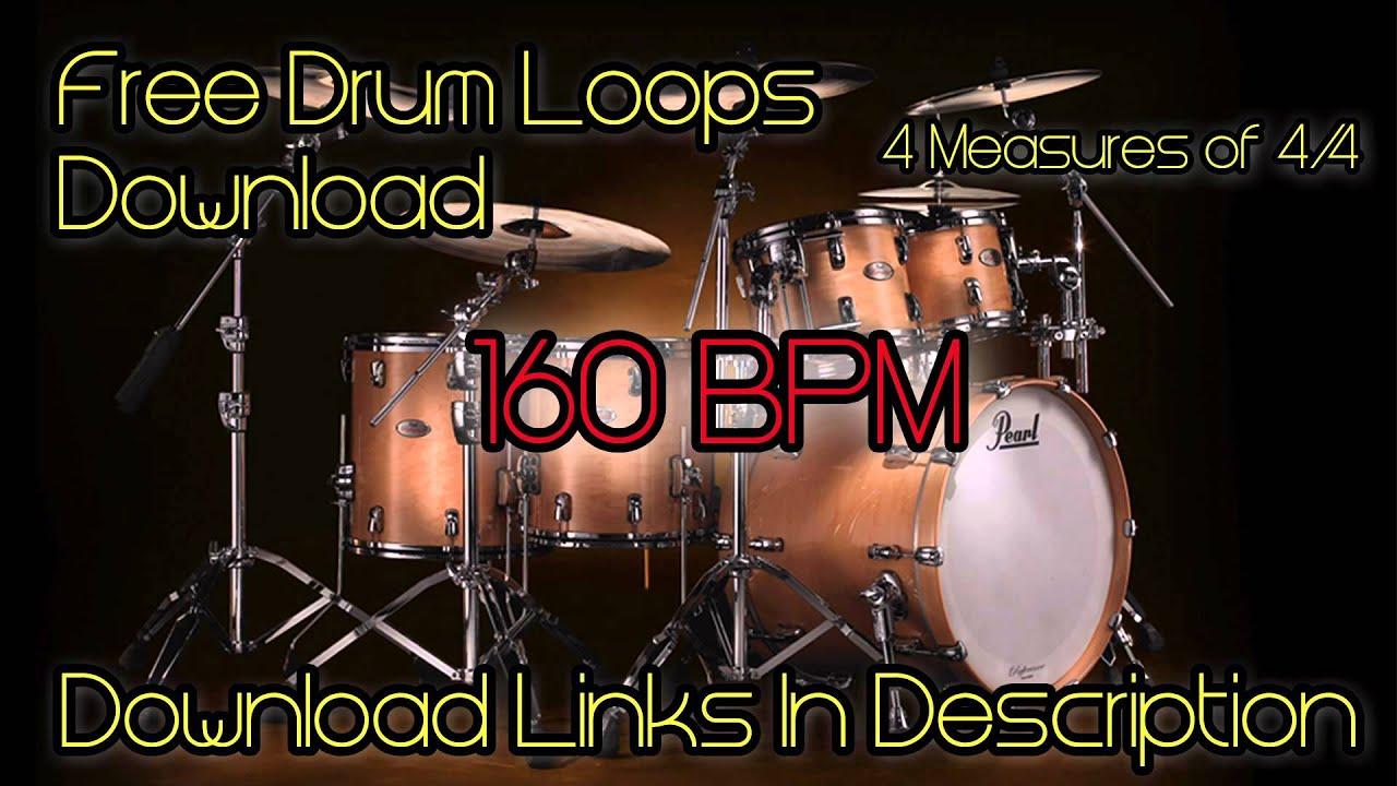 Free Drum Loops - Rock Drum Loops Free Download - Multiple BPM