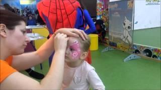 видео Аквагрим для детей –  любимое развлечене на празднике