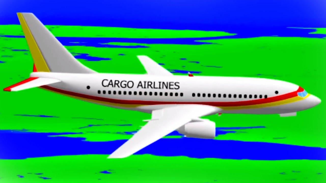Cargo Plane | Candy Factory | Transport for Children | Car Cartoon Videos