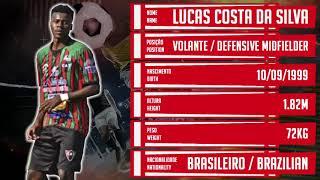 ⚽ LUCAS CARIOCA / VOLANTE / Lucas Costa da Silva