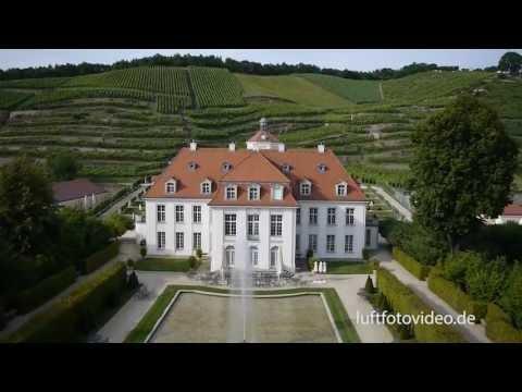 Oktokoptervideo von Schloss Wackerbarth 2013 HD - Mikrokopter,DJI,Luftaufnahmen