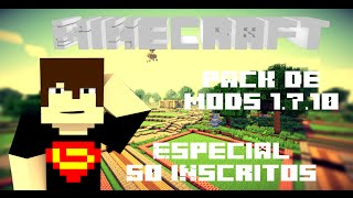 Super Pack de Mods 1.7.10 [50 mods] Sem Lag - Especial 50 inscritos