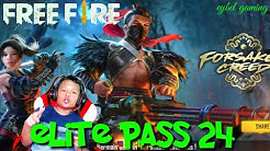 ELITE PASS TERBARU SEASON 24 FORSAKEN CREED GEGE BET
