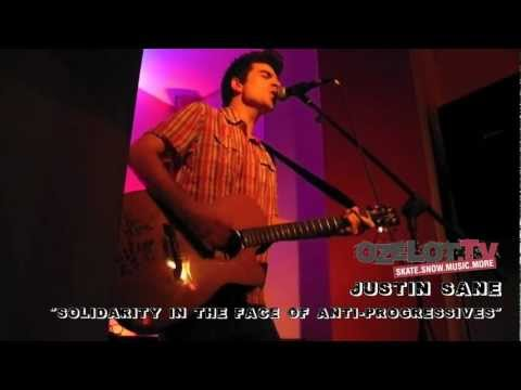 Justin Sane - Live im Feinstaub Frankfurt