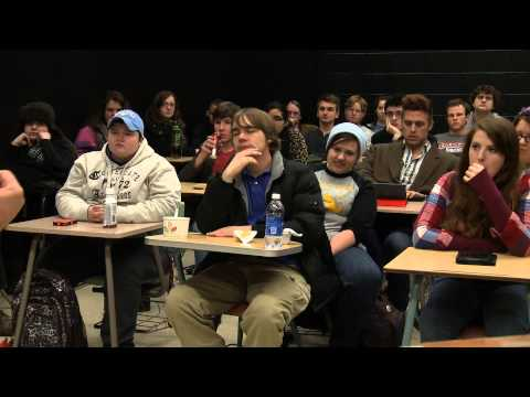 Earl Brown visits Murray State