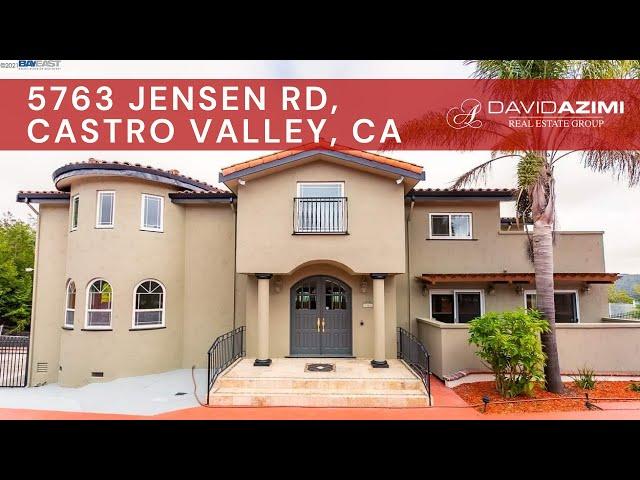 For Sale! 5763 Jensen Rd Castro Valley, CA 94552 | David Azimi