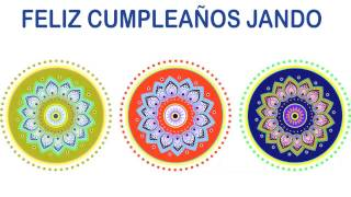 Jando   Indian Designs - Happy Birthday