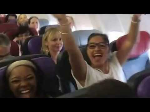 """Impromptu Performance Of """"Circle Of Life"""" By Cast Of """"The Lion King"""" On Flight: The Story Behind"""