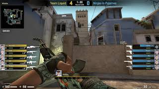 CS:GO POV Demo Liquid Twistzz (30/20) vs NiP (de_mirage)