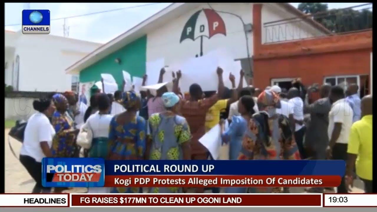 Kogi, Ondo PDP Protest Alleged Imposition Of Candidates |Politics Today|