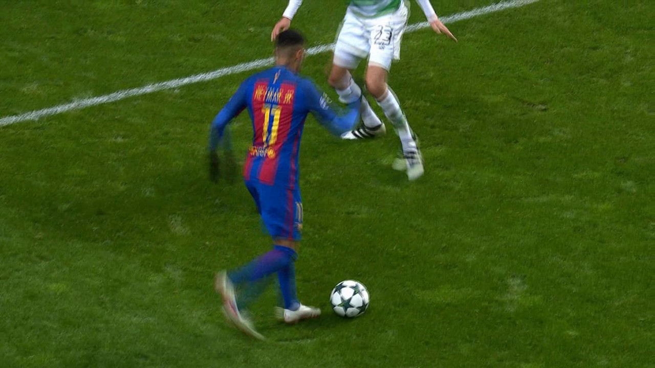 Messi goal vs celtic 16 17
