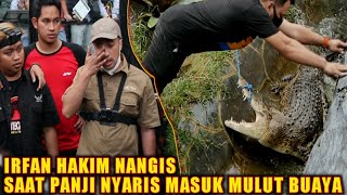 PANJI ALMOST EATEN BY A CROCODILE ! Irfan Hakim and The Dream Team are upset