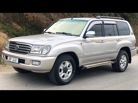 Oto cũ giá rẻ . Toyota land cruiser 2004 động cơ siêu khủng . Số sàn máy xăng 2 cầu. Giá 360tr