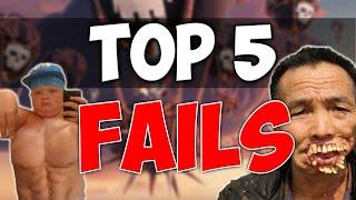 Clash of Clans | TOP 5 FAILS ! - Attaques Guerre de Clans WTF