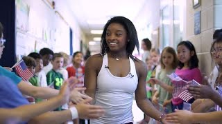 Back to School with Simone Biles from Ask, Listen, Learn