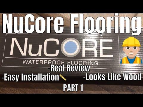 NuCore WATERPROOF ENGINEERED VINYL FLOORING REVIEW