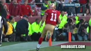 Alex Smith 28 yard touchdown vs. Saints 2012