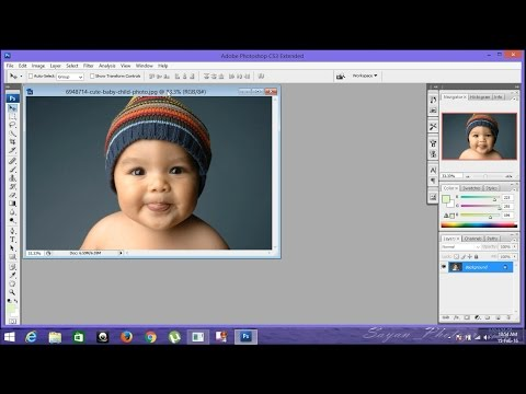 Photoshops Tutorials-How To Use Photoshop CS3 Basics (beginners Tutorial) PART 1