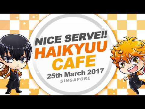 Nice Serve!! Haikyuu Cafe Highlights