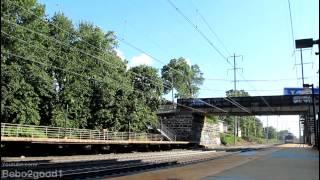 NJT/Amtrak NEC: PM Peak Trains in North Elizabeth RR, NJ