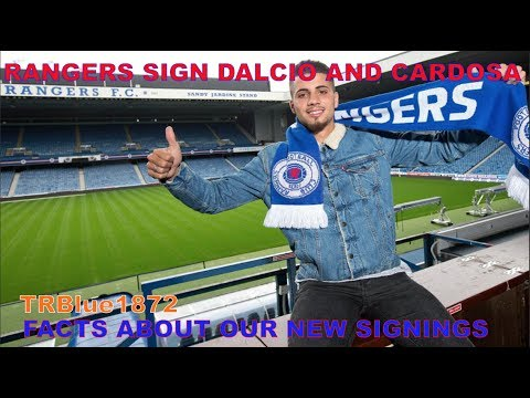 RANGERS SIGN DALCIO AND CARDOSO- Facts about our new signings.