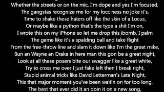 Drake - Uptown ft. Bun B and Lil Wayne (LYRICS ON SCREEN) *HOT SONG*