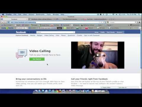 New Facebook Skype Video Chat / Group Chat Overview