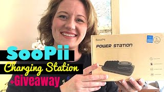 SOOPII Wireless Charging Station Review Video 2019 + GIVEAWAY! CleanCutCouponing thumbnail