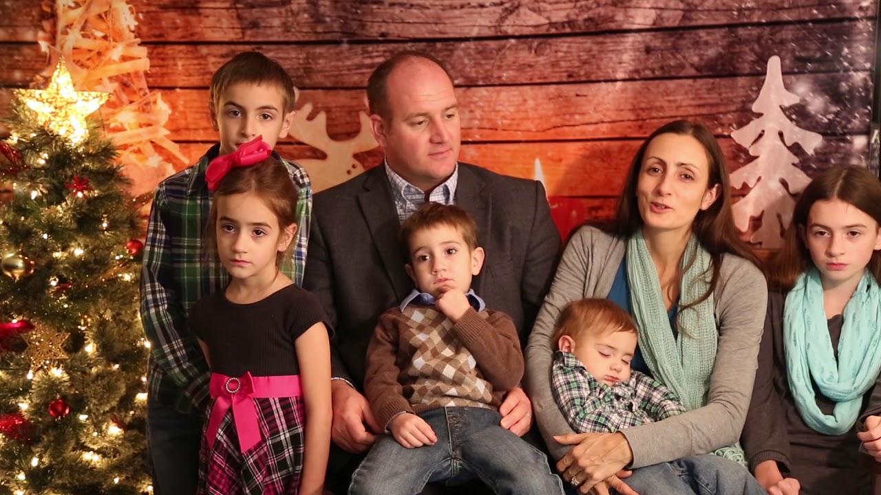 Holiday Greetings Kyle Hockersmith And Family Youtube
