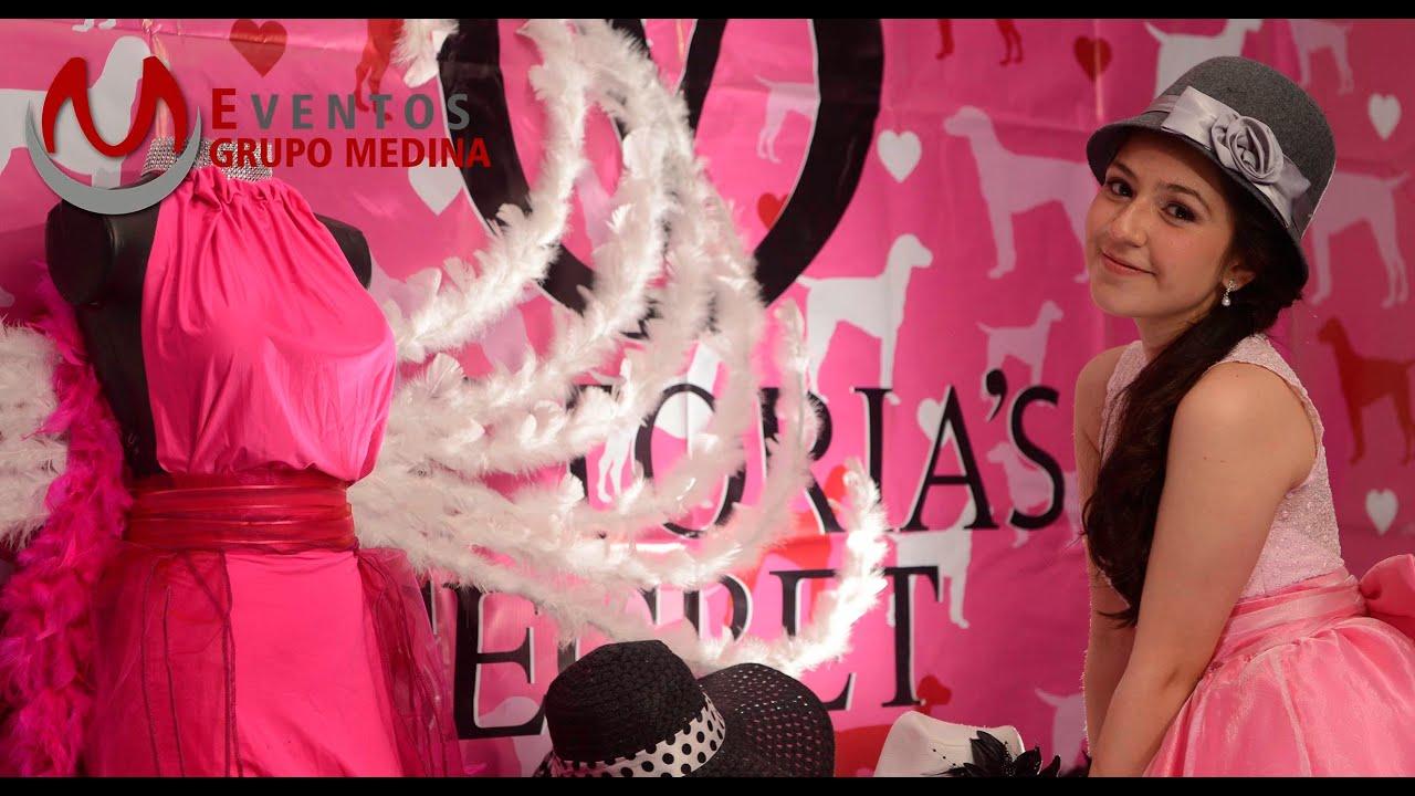 Las Mejores Fiestas Temáticas Temática Victoria Secret Eventos Grupo Medina
