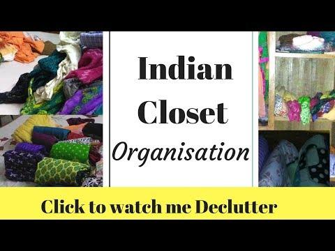 Wardrobe Organisation India | Almirah KI SAFAI | Indian closet organisation