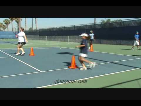 warm up drills with gion tennis inc youtube. Black Bedroom Furniture Sets. Home Design Ideas