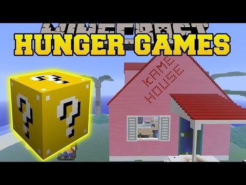 Minecraft: DBZ KAME HOUSE HUNGER GAMES -...