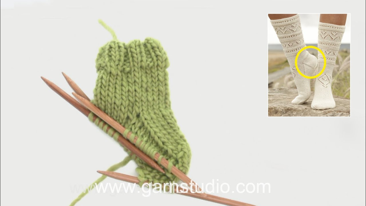how to knit a sock heel turn