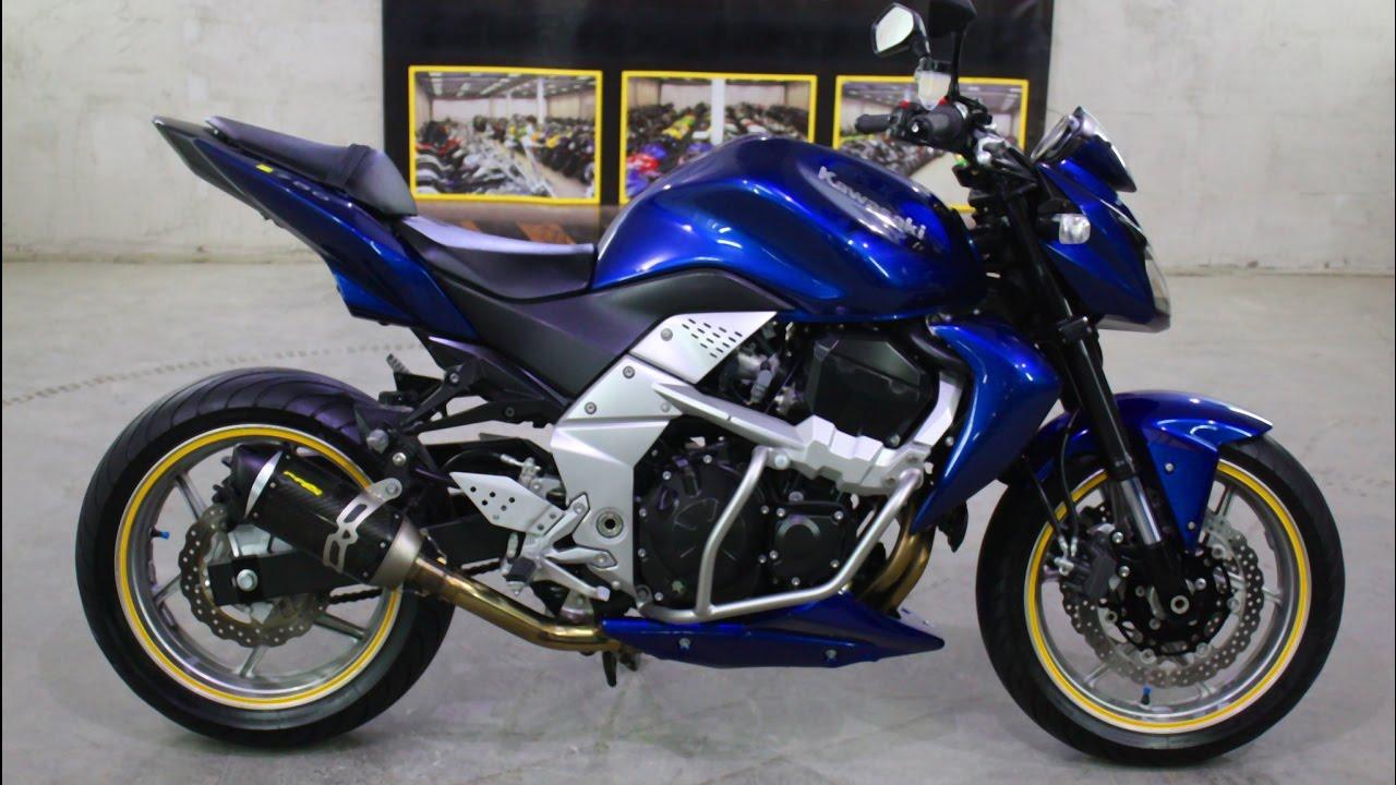 Kawasaki z750 - GTA MOD - YouTube