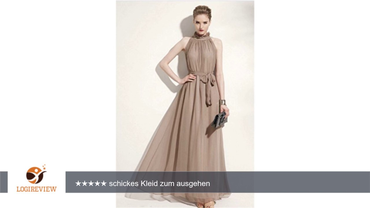 EMIN Damen Kleider Für Hochzeitsgäste Party Abend Ballkleid ...